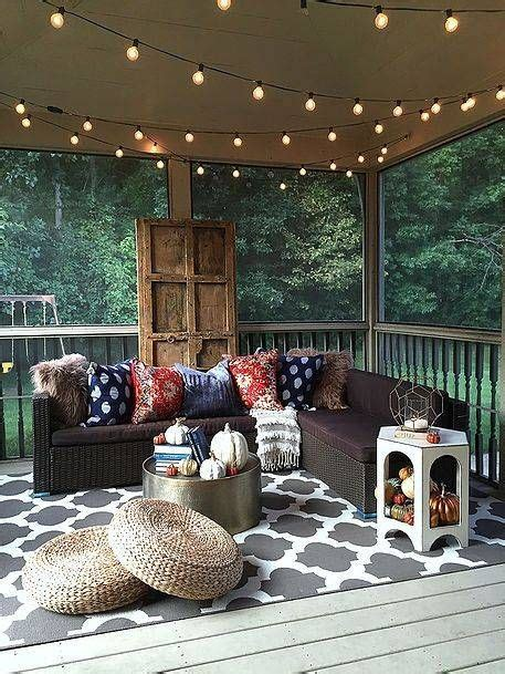 string lights for screened porch nine ways to transform your porch into a bohemian escape