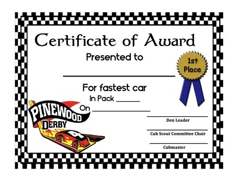 Show Certificate Template by Car Show Award Certificate Template Gallery Certificate