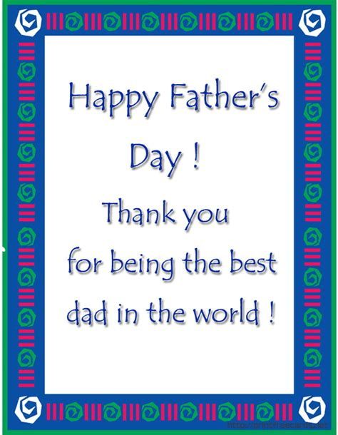 Free Printable Card Templates Fathers Day printable certificates new calendar template site