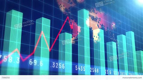 chart wallpaper financial chart background footage stock animation 7396050