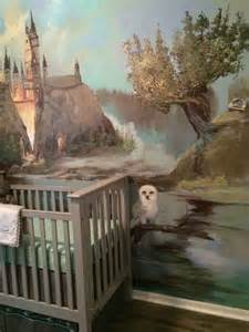 Harry Potter Wall Murals Present Your Small One With A Distinctive Nursery Area