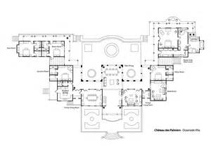chateau floor plans floor plan chateau des palmiers terres basses luxury