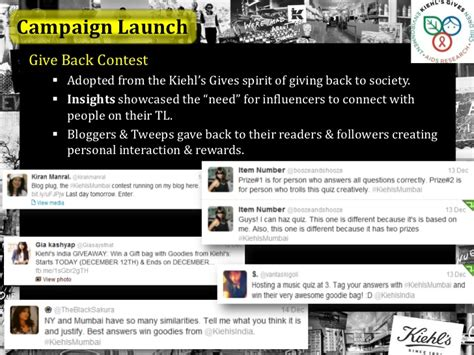 Kiehls Gives Back by Kiehl S India Study