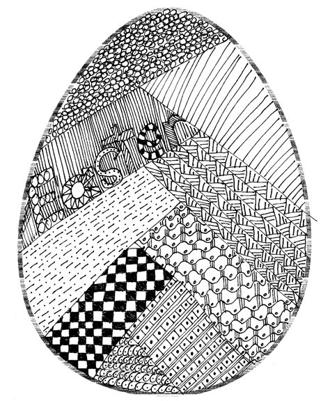 doodle how to make egg made out of things easter egg doodle