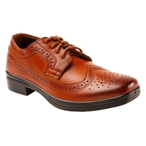 target oxford shoes boys deer stags ace oxford oxfords chestnut 4 5 target