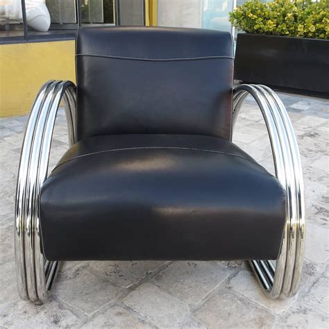 Ralph Chair by Ralph Hudson Lounge Chair In New Black