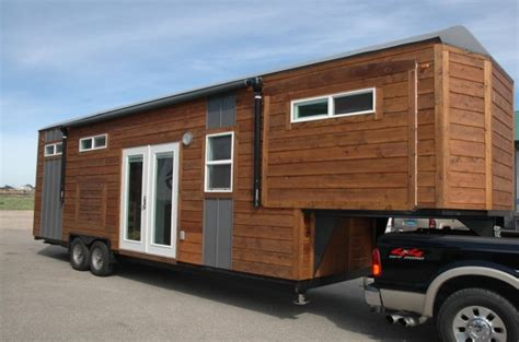 tiny house with slide out tiny house talk 34 gooseneck tiny house with 3 slide