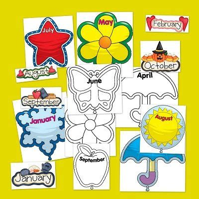 decorar mean in english fichas infantil para repasar los meses del a 241 o en ingl 233 s