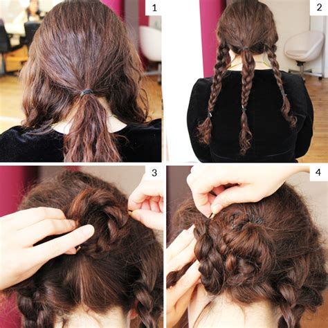 can you tie back a long bob easy medium and long hair tutorial how to create a