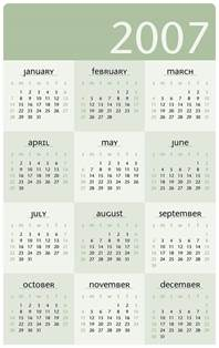 word 2007 calendar template image gallery 2007 calendar year