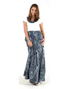 taramea rayon dress pacific islands art