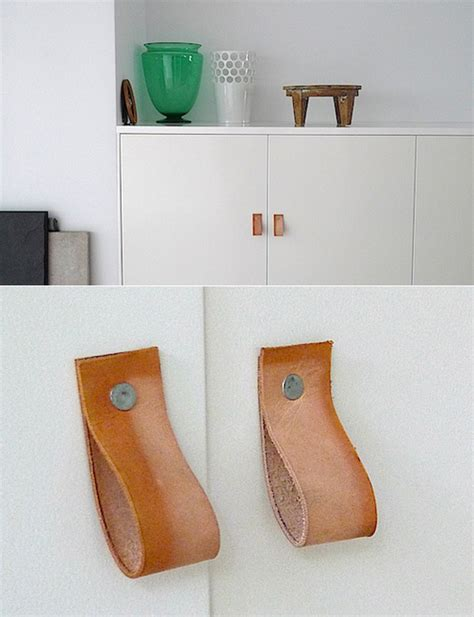 diy leather drawer pulls how to make diy leather drawer and cabinet pulls man