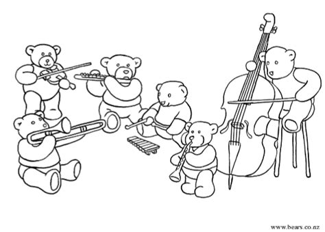 coloring pages instruments of the orchestra free of the orchestra coloring pages