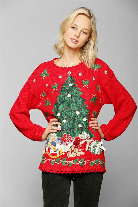 best play to get ugly christmas sweaters in az lyst outfitters sweater in