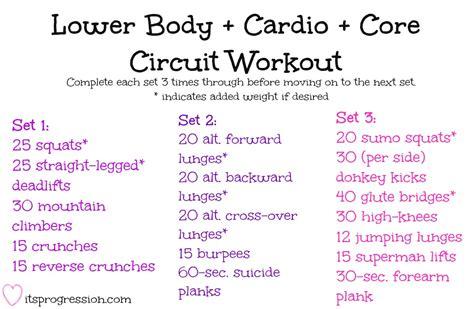 circuit training circuit training workouts tough lower body cardio core circuit workout www itsprogression com workouts