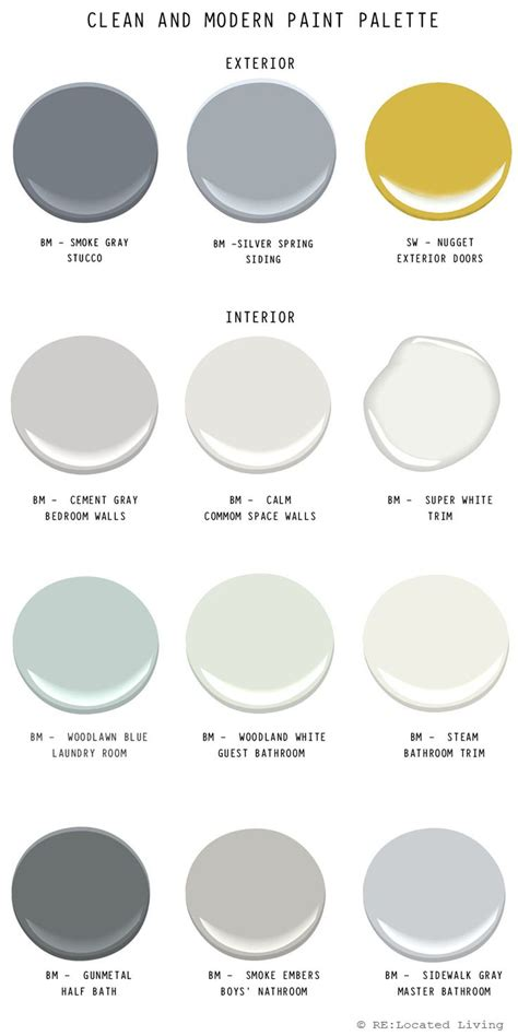 contemporary paint colors best 25 modern paint colors ideas on pinterest bedroom