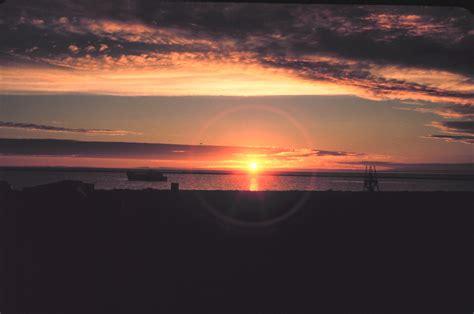 Late Sunset Sail Boat Sunset Noaa Photo Library