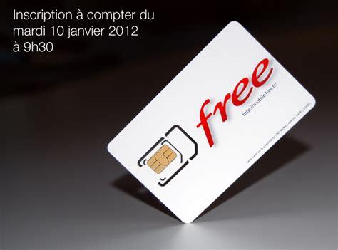 mobil free free mobile indique les d 233 lais d attente pour recevoir sa