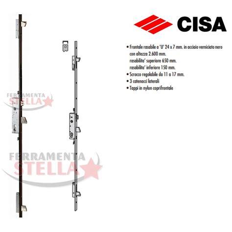 serrature per porte in alluminio serratura cisa 46425 multipunto per portone porta ferro