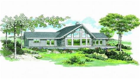 view house plans luxury lake view home plans