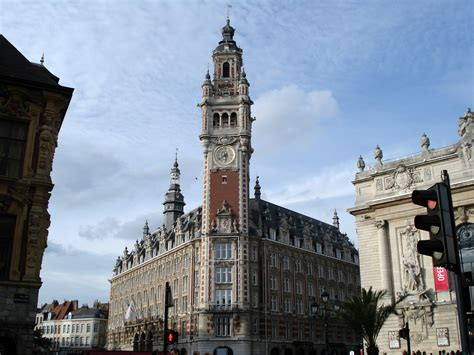 lille chamber of commerce building in lille