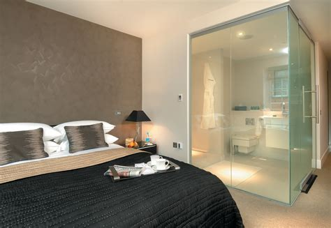 hotel room with bathtub quot peek a boo quot lc smartglass for hotel bathroom interiors