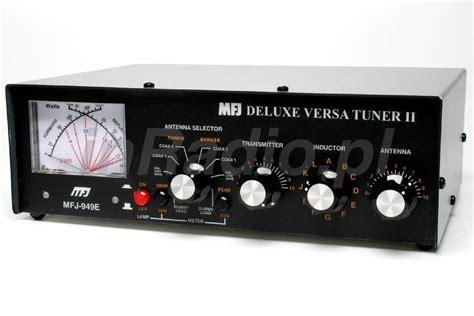 mfj inductor switch mfj 949e 300w antenna tuner 1 8 30 mhz peak cross meter dl mfj949e mfj949 ebay
