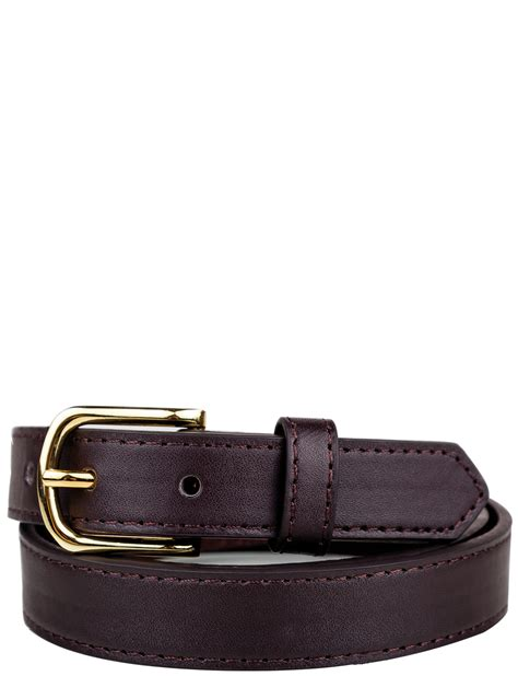 mens 1 inch wide leather belt
