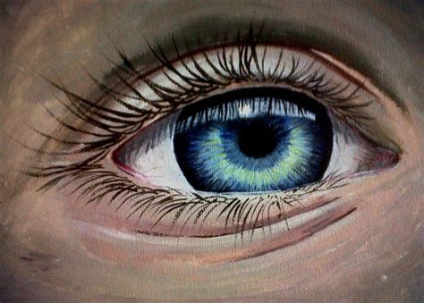 acrylic paint eye pictures eye acrylic painting drawing gallery