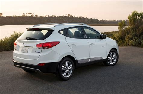 Hyundai Tucson Fuel Cell Price by 2015 Hyundai Tucson Fuel Cell Drive Motor Trend
