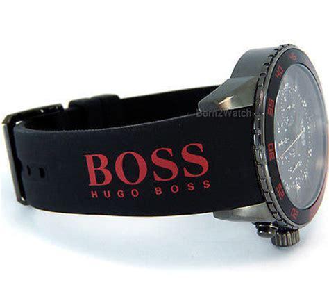 Jam Hugo Chrono Rubber Black s watches hugo 1512901 gents chronograph sports