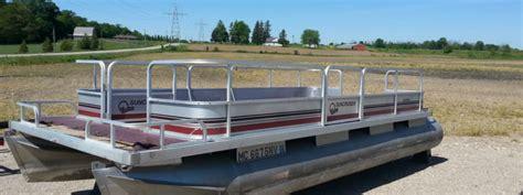 pontoon boats ingersoll used pontoon boats ontario ocp boats ingersoll ontario