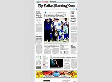 Newspaper Dallas Morning News (USA). Newspapers in USA ... United Kiosk