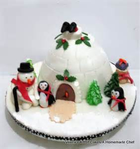 pictures of christmas cakes