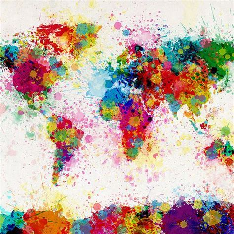 25 best ideas about paint splatter on splatter paint canvas balloon painting and