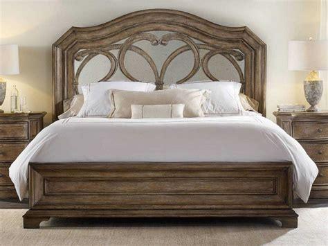 hooker bed hooker furniture solana wood panel bed bedroom set