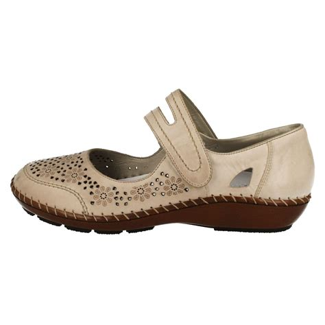 Flat Shoes Anti Licinalas Karet 1 rieker antistress shoes 44875 ebay