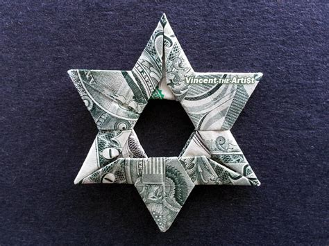 Of David Origami - of david money origami dollar vincent the artist