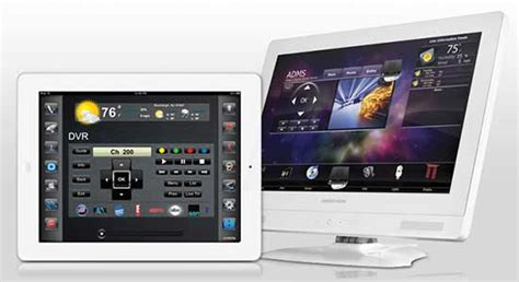 Crestron Release New Home Automation Design Templates For Ipad Automated Home Crestron Gui Templates