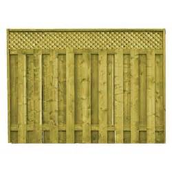 home depot fence proguard treated wood lattice top fence panel home depot