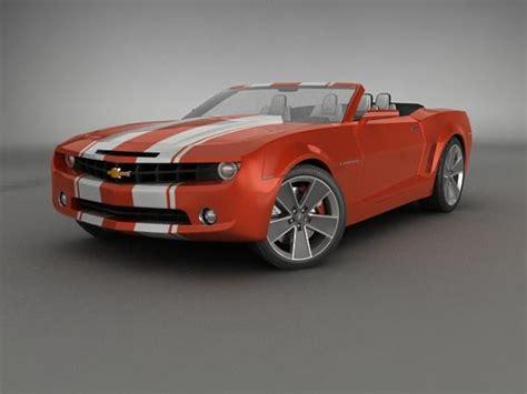 chevrolet camaro convertible concept    art
