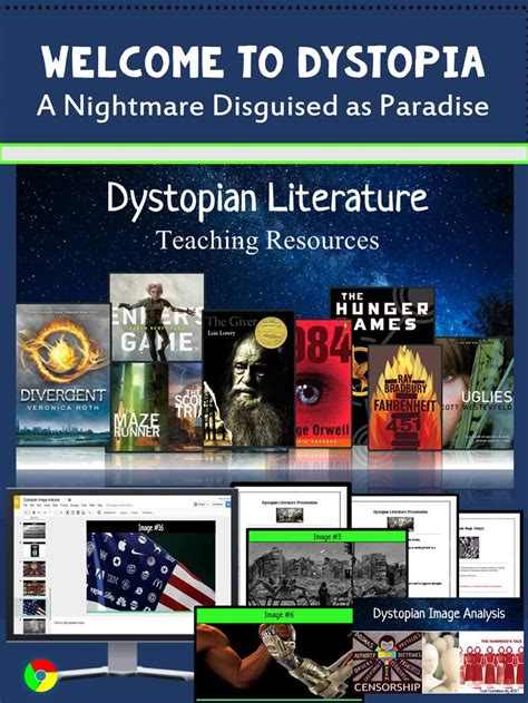 themes in dystopian literature 489 best secondary library lessons and materials images on