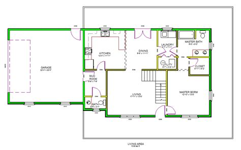 floor plan dwg drawing simple house plan autocad home design and style