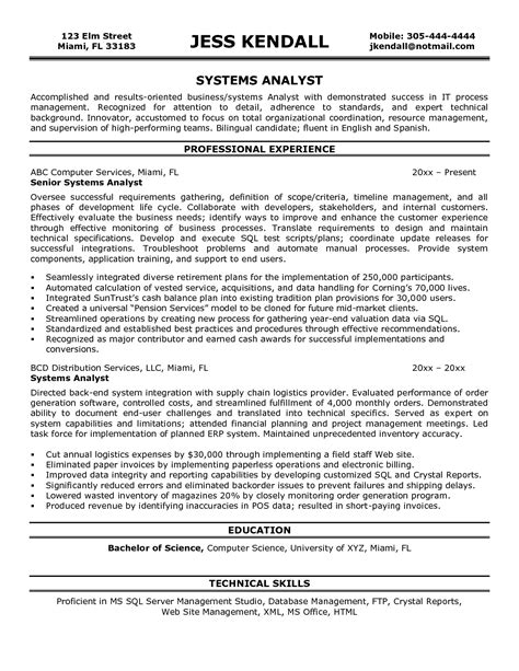 doc 8004 functional resume system analyst 88 related docs www clever