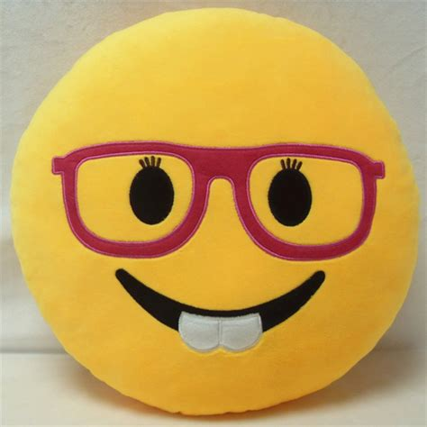 Emoticon Pillow by Emoji Smiley Cushion Yellow Soft Stuffed Plush Emoticon Pillow Ebay