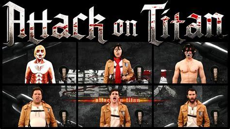 Theme Music Mari | attack on titan theme song acapella ft mari takahashi