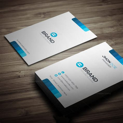 horizontal card template horizontal vertical business card template 000270