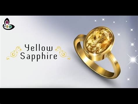 hq yellow sapphire yellow sapphire ring astrology