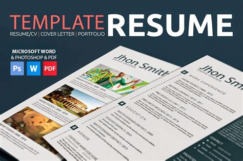 Creative Resume Templates 20 best resume template in 2015 graphicstoll