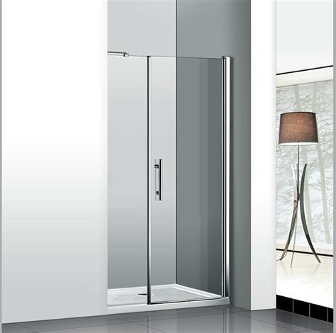 Pivot Shower Doors Aica 1200x1850mm Frameless Pivot Shower Enclosure Glass